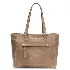 FRYE Melissa Tote Shopper with Zipper